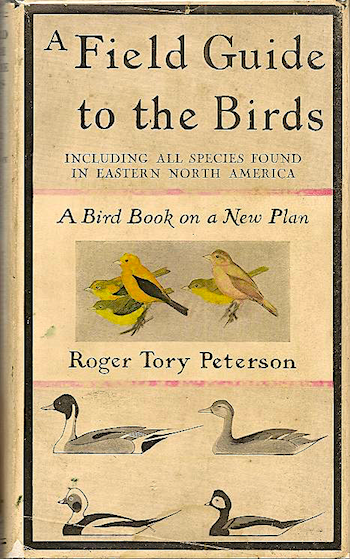 Roger Tory Peterson bird guide 1934