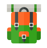 camping icon collection 1 mochila