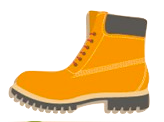camping icon collection 5 color bota