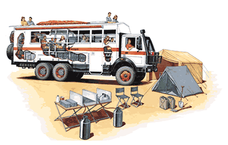 camping overland truck africa TRANSP