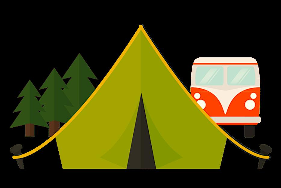 camping barraca kombi