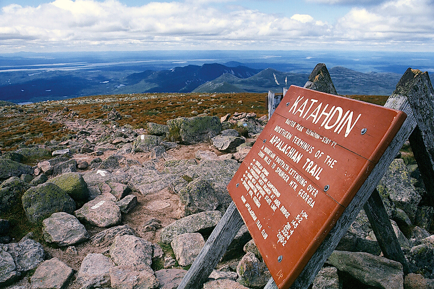 appalachian Mount Katahdin top
