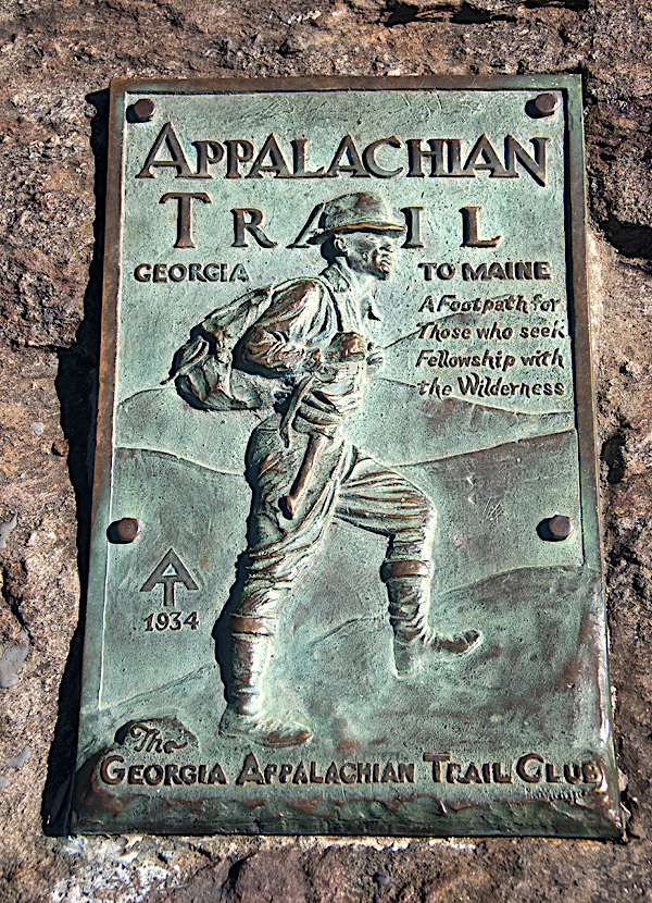 appalachian trail placa trekker