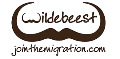 overland logo wildbeest migration