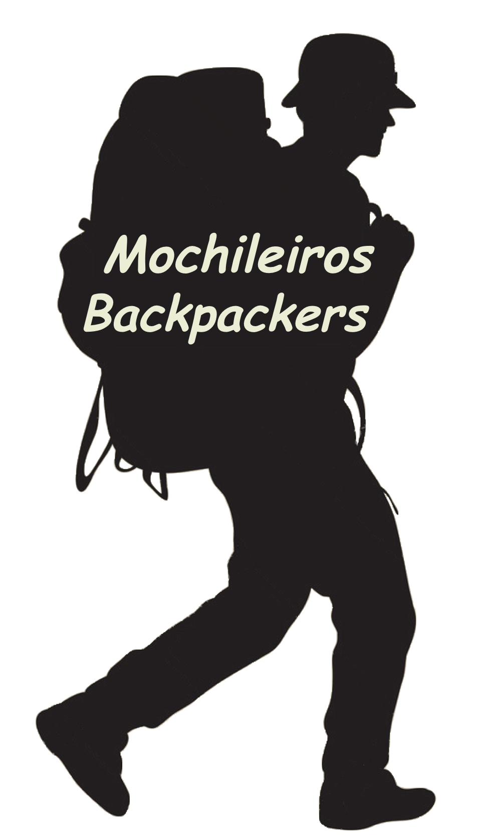 logo mochileiro backpacker